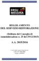 REGOLAMENTO RISTORAZIONE 2015-2016